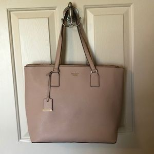 Pink, Kate Spade tote. Perfect condition.